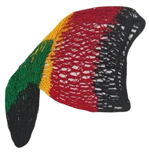 unknown Rasta Slouchy Baggy Net Beanie Hat for Long Hair or Dreads Dreds