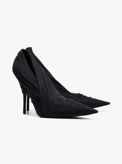 Balenciaga Night Out Date Night Black Pumps Image 1