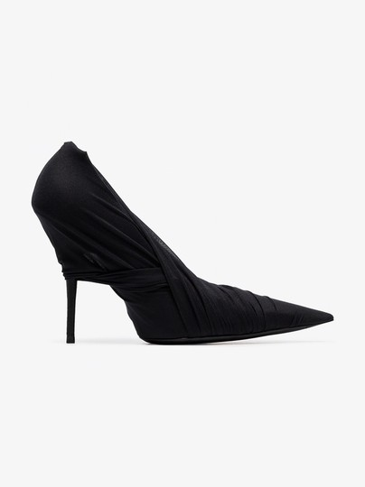 Balenciaga Night Out Date Night Black Pumps Image 2
