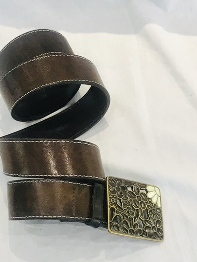 Paul Smith Brown leather belt Image 3