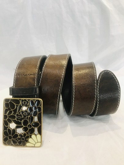 Paul Smith Brown leather belt Image 6