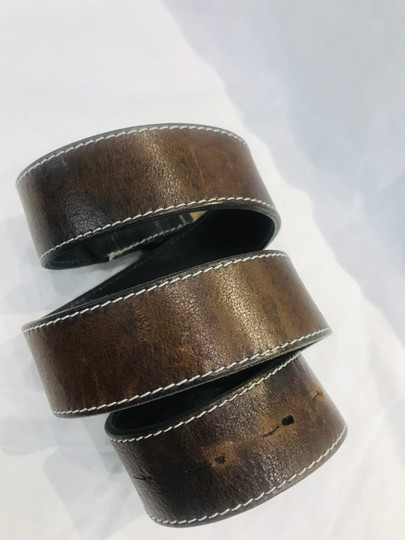 Paul Smith Brown leather belt Image 7