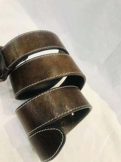 Paul Smith Brown leather belt Image 8