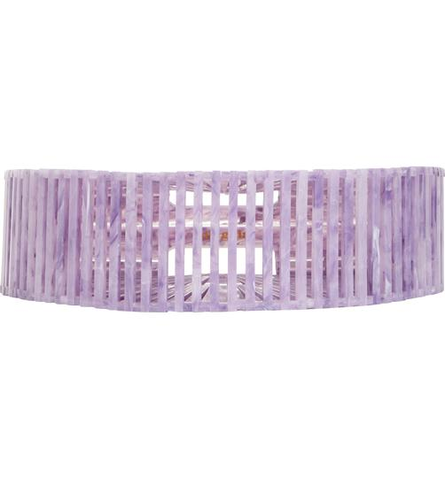 Cult Gaia Acrylic Clutch Tote Cut-out Satchel in Purple Image 4