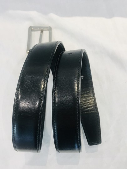 Prada Black leather belt Image 2