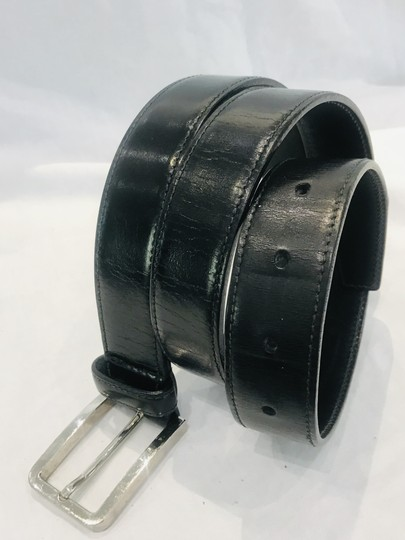 Prada Black leather belt Image 5