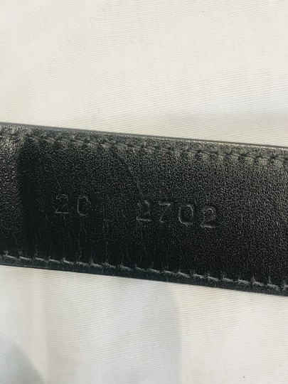 Prada Black leather belt Image 9