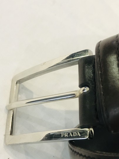 Prada brown leather belt Image 1