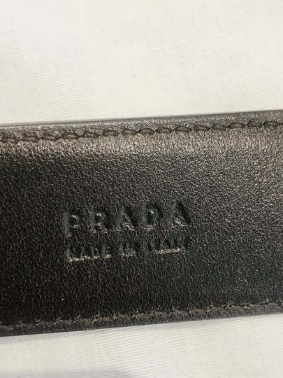 Prada brown leather belt Image 10