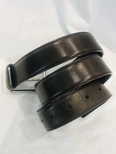 Prada brown leather belt Image 3