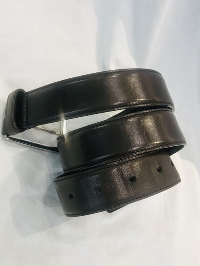 Prada brown leather belt Image 4