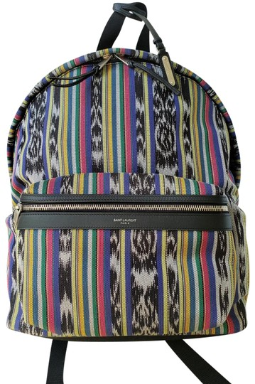 Preload https://img-static.tradesy.com/item/25671385/saint-laurent-paris-multi-colored-made-in-italy-multiple-canvas-backpack-0-2-540-540.jpg