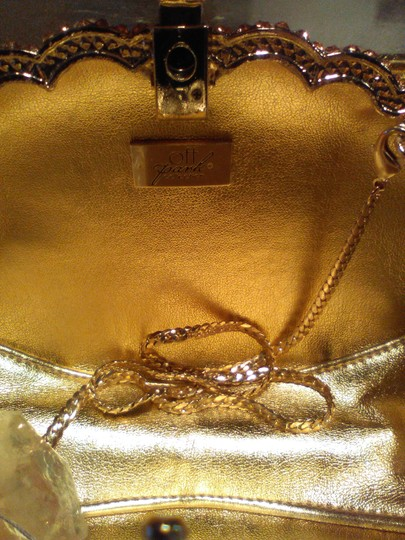 Judy Linton Gold Clutch Image 2