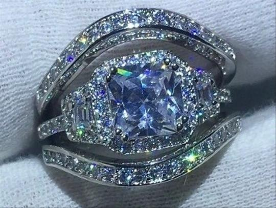 Preload https://img-static.tradesy.com/item/25671391/white-silver-square-halo-solitaire-diamond-princess-wave-wedding-bands-engagement-wedding-3pc-stacka-0-1-540-540.jpg