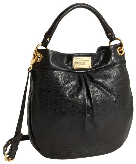 Preload https://img-static.tradesy.com/item/25671436/marc-jacobs-classic-hillier-black-leather-hobo-bag-0-1-540-540.jpg