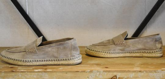 Vince Suede Espadrille Woven Gray Flats Image 4