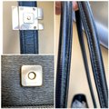 Gucci Totes Leather Canvas G Metal Logo Shoulder Bag Image 6