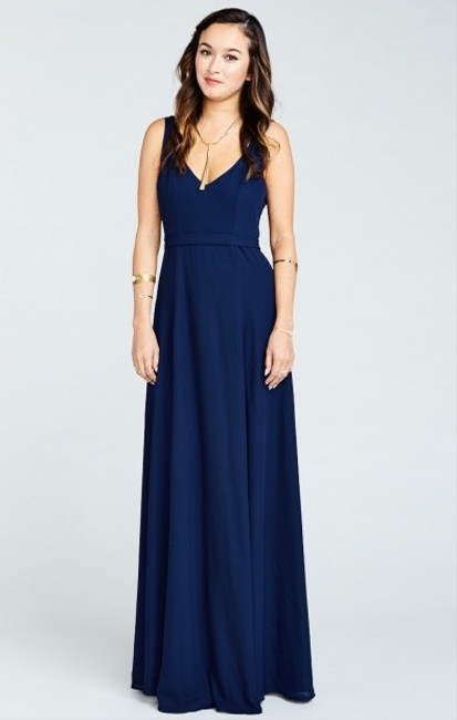navy Maxi Dress by Show Me Your Mumu Image 1