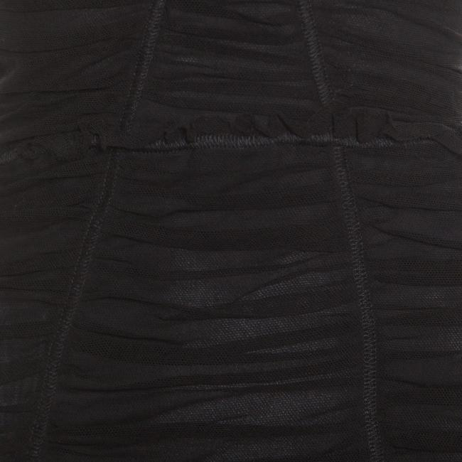 Dolce&Gabbana short dress Black Cotton Fitted on Tradesy Image 3