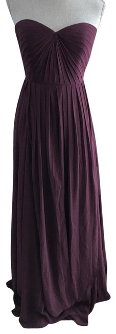 Item - Black Currant Mira Chiffon Gown Long Formal Dress Size 10 (M)