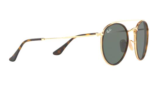 Ray-Ban Gold Rounded Ray Ban Sunglasses RB 3647 -FREE 3 DAY SHIPPING Image 5