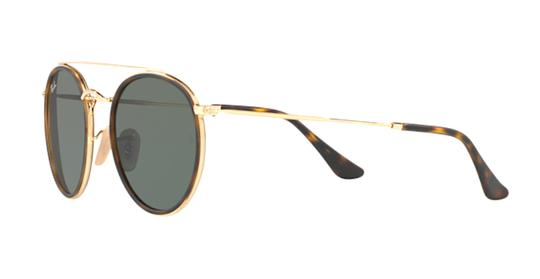 Ray-Ban Gold Rounded Ray Ban Sunglasses RB 3647 -FREE 3 DAY SHIPPING Image 7