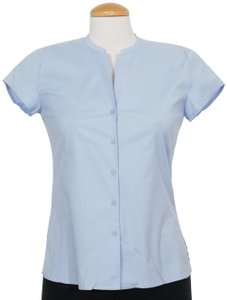 Eileen Fisher Top Morning Glory Blue