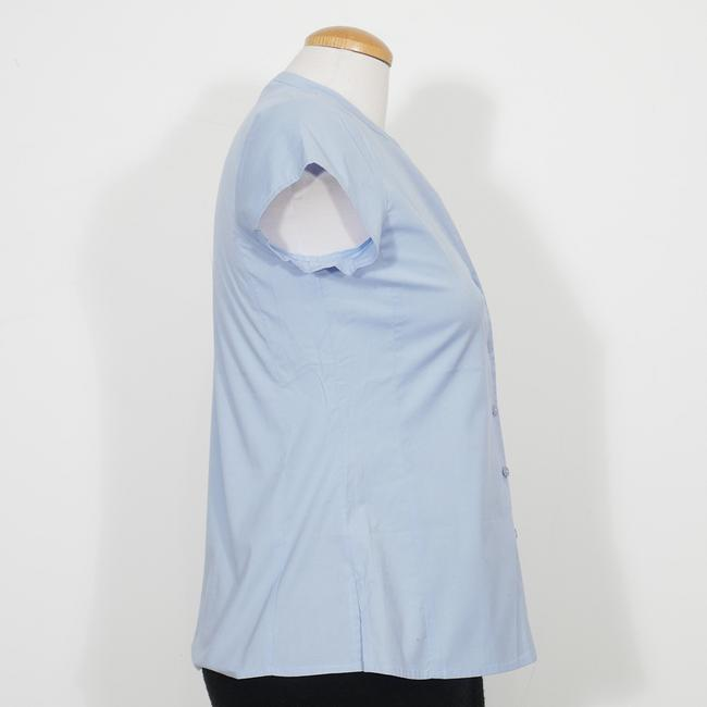 Eileen Fisher Top Morning Glory Blue Image 2