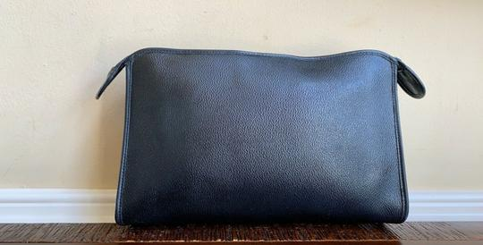 Dior Vintage Pouch Cosmetic Black Clutch Image 2