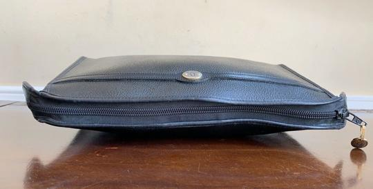 Dior Vintage Pouch Cosmetic Black Clutch Image 7