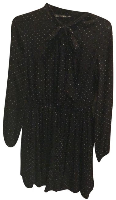 Preload https://img-static.tradesy.com/item/25671636/trafaluc-zara-black-white-polka-cocktail-short-casual-dress-size-4-s-0-1-650-650.jpg
