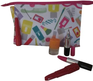 Clinique Clinique Happy Fragrance with Large cosmetic bag Writing pens 6 pc.