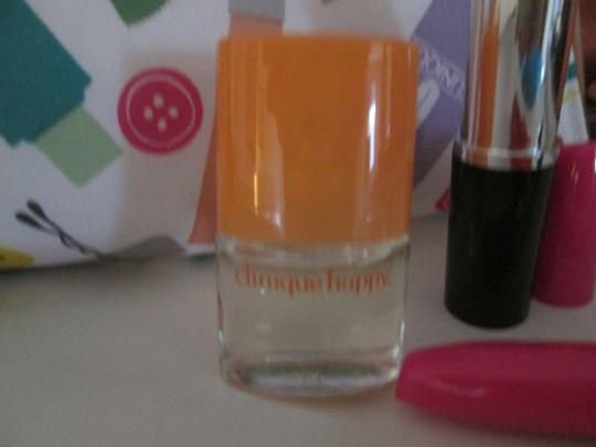 Clinique Clinique Happy Fragrance with Large cosmetic bag Writing pens 6 pc. Image 1