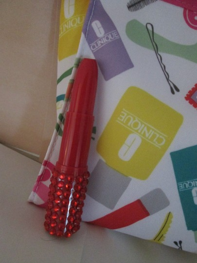 Clinique Clinique Happy Fragrance with Large cosmetic bag Writing pens 6 pc. Image 7