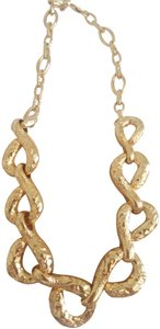 Alexis Bittar Alexis Bittar Rocky Link Gold Plated Necklace