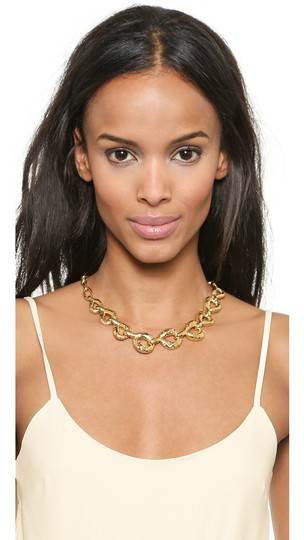 Alexis Bittar Alexis Bittar Rocky Link Gold Plated Necklace Image 1