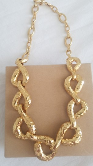 Alexis Bittar Alexis Bittar Rocky Link Gold Plated Necklace Image 2