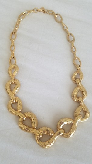 Alexis Bittar Alexis Bittar Rocky Link Gold Plated Necklace Image 6