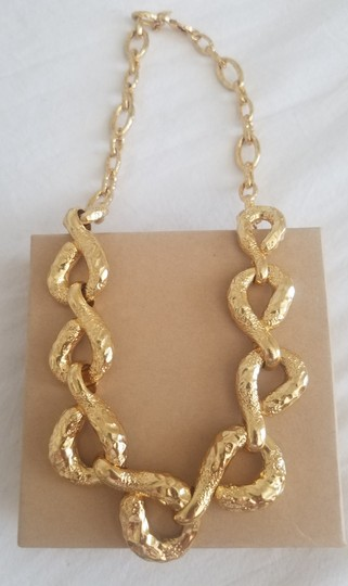 Alexis Bittar Alexis Bittar Rocky Link Gold Plated Necklace Image 9