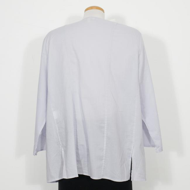 Eileen Fisher Top India Sky Blue Image 1