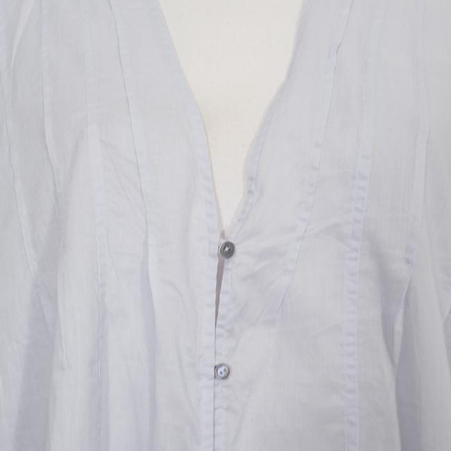 Eileen Fisher Top India Sky Blue Image 3
