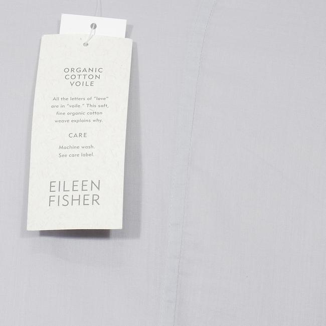 Eileen Fisher Top India Sky Blue Image 4