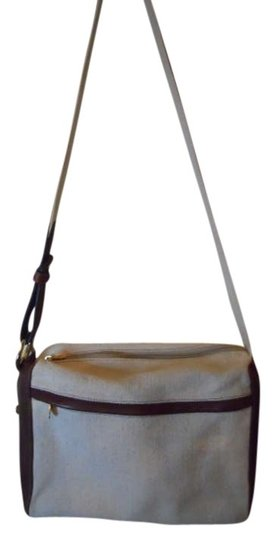 Preload https://item3.tradesy.com/images/canvas-with-leather-trim-shoulder-bag-256717-0-0.jpg?width=440&height=440