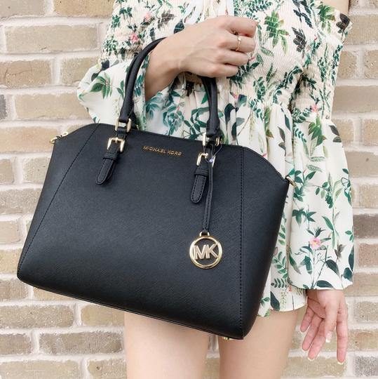 Michael Kors Satchel in Black Image 1