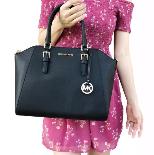 Michael Kors Satchel in Black Image 5