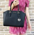 Michael Kors Satchel in Black Image 7