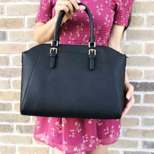 Michael Kors Satchel in Black Image 8