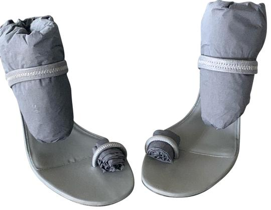 YEEZY Grey Sandals Image 1