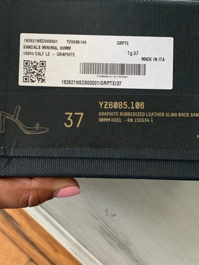 YEEZY Grey Sandals Image 4