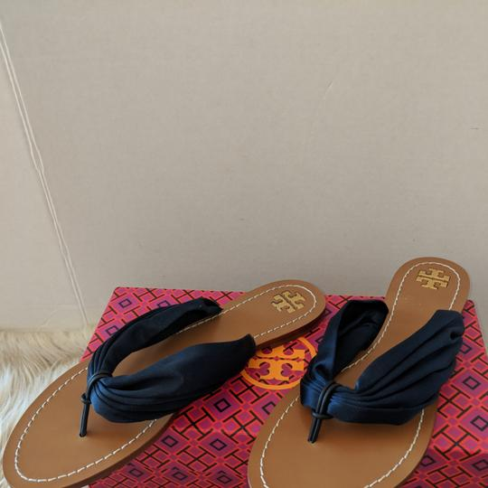 Tory Burch Perfect Navy Sandals Image 1